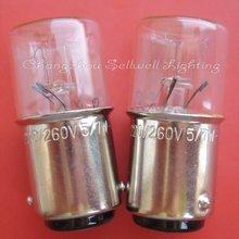 Ba15d 16x36 220/260v 5/7w miniature lamp light bulb a323