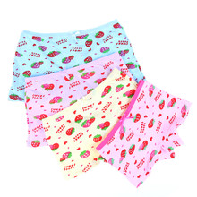 Shorts Underwear Panties Baby-Girls Kids Cotton for Briefs Children Cat Cartoon Fashion