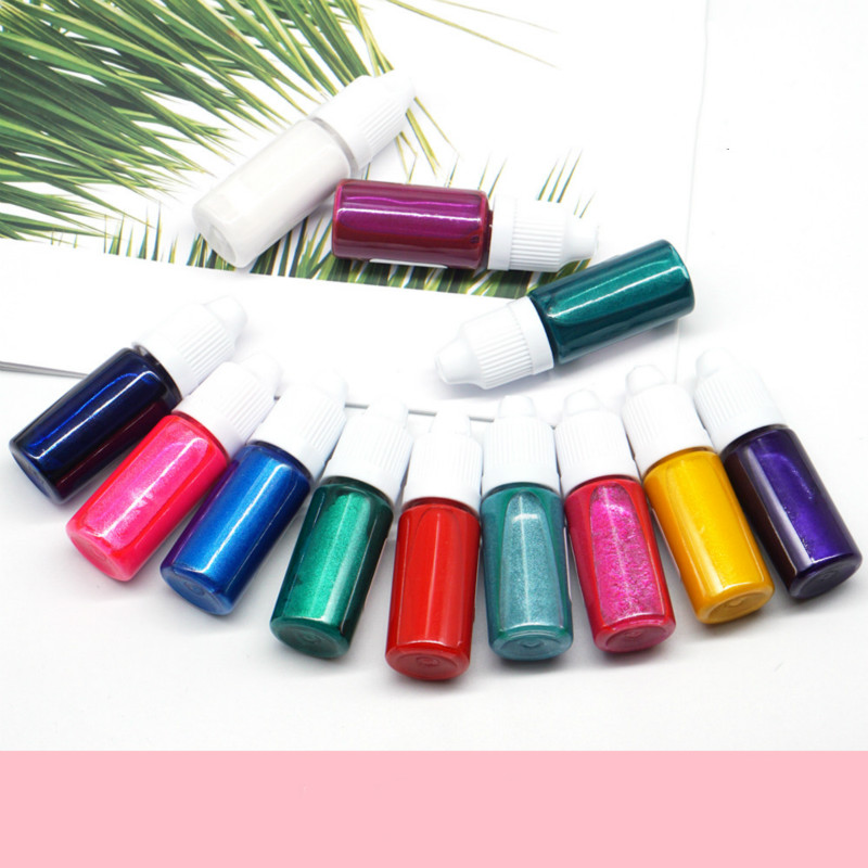 15 Colors Epoxy UV Resin Coloring Dye Colorant Pigment Mix Color for ...