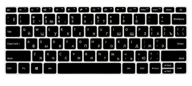 Para xiao mi port til aire 13 13 3 idioma ruso teclado de - Foto teclado ordenador ...