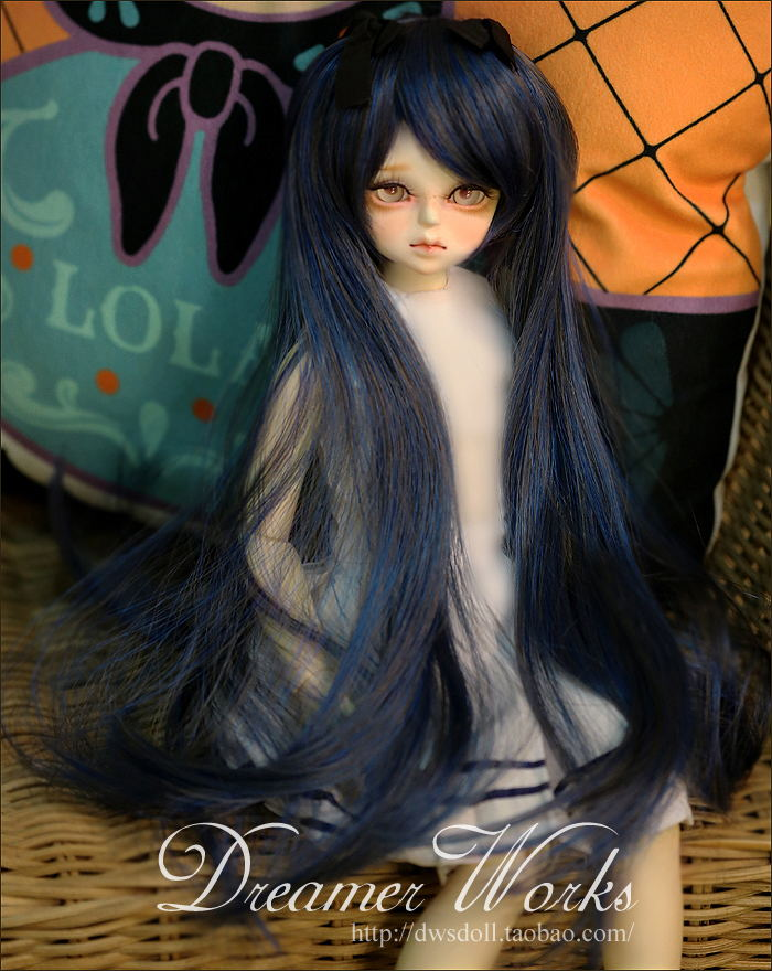 1/4 1/3 scale BJD  doll wig long hair for DIY BJD/SD accessory.Not included doll,clothes,shoes,and other accessories 17C3225 25cm 100cm doll wigs hair refires bjd hair black gold brown green straight wig thick hair for 1 3 1 4 bjd diy