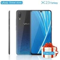 Mobile Phone vivo X23 Fantasy 6.41 6G RAM 128G ROM Snapdragon 660 Octa Core dual camera waterdrop display Screen Cell phone
