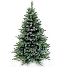 1.2m-3.0m snowflake encryption mixed five fingertips automatic Christmas tree decorations