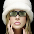 1pc G15-DLP 3D Active Shutter Glasses For DLP-LINK DLP Link Projectors 96-144Hz Hot Worldwide