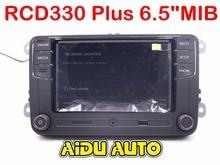 "Coche 6.5 ""MIB UI Radio RCN210 RCD510 RCD330 RCD330G Plus Para Golf 5 6 Jetta CC Tiguan Passat"