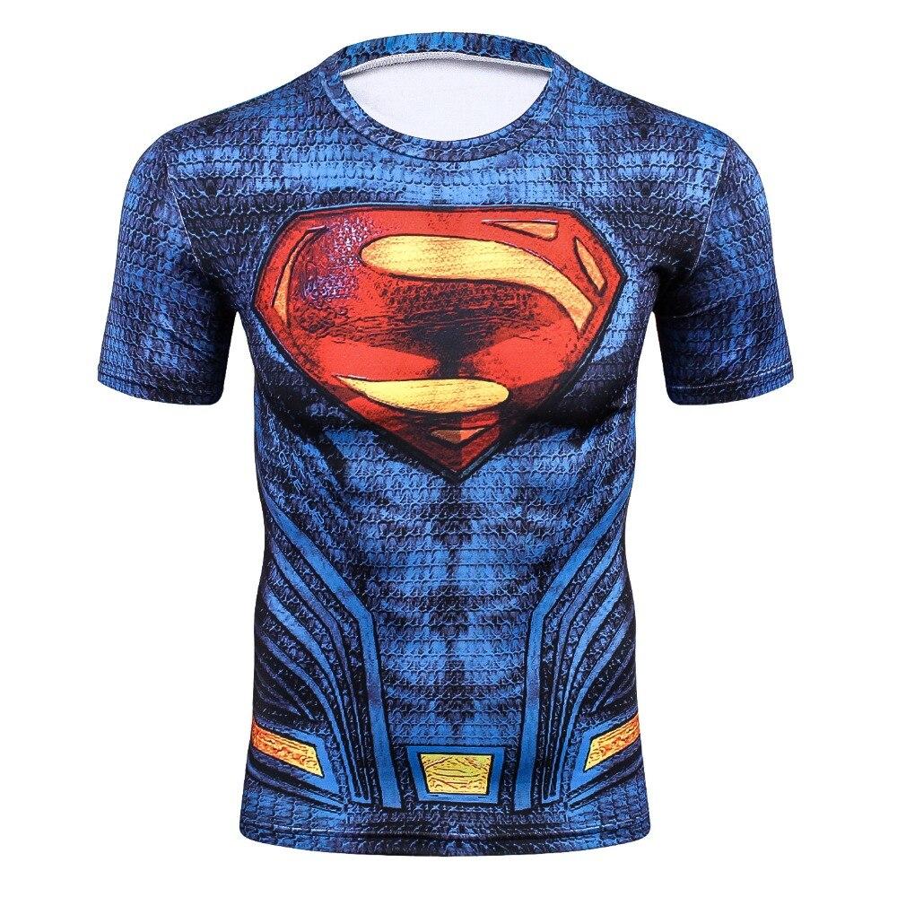 2017 super hero T new T-shirt iron man batman: the green giant hulk captain America rocky, black widow, hawkeye avengers T-shirt