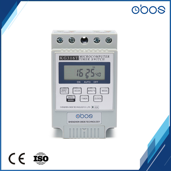 Kg316t-ii Mini Programmable Din Rail Digital Lcd Timer Switch Electronic Home Security Control Switch Automatic Timer Switch Good Reputation Over The World Computer & Office