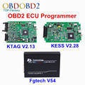 New KTAG V2.13 + KESS V2 V2.28 + FGTech V54 ECU Programmer K TAG K-TAG V6.070 FG Tech Galletto 4 KESS 4.036 OBD2 Chip Tuning Kit