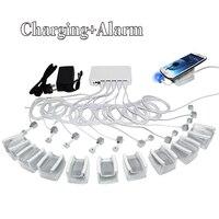 10 в 1 зарядка мобильного телефона для безопасности мобильного телефона система сигнализации Подставка для планшетов с andriod apple кабели и акри