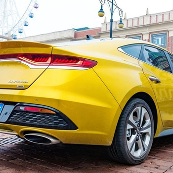 UBUYUWANT For Hyundai LAFESTA 2018+ Rear Spoiler High Quality ABS Material Primer Color Car Tail Wing Decoration For LAFESTA фото