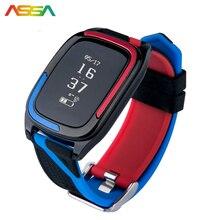 Фитнес браслет черный assa DB05 сердечного ритма Мониторы умный Браслет Фитнес Band Bluetooth трекер Фитнес трекер спортивные браслет
