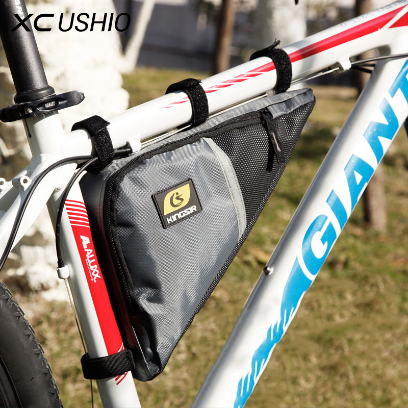 Kingsir Brand Waterproof Cycling Front Triangle Bag Mountain Road Bike Bicycle Front Tube Frame Bag Phone Pouch Case Tool Bag baci колготки черные с нежной узором размер универсальный xs l