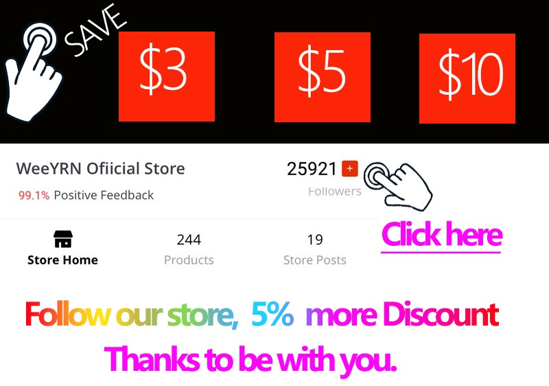 follow our store