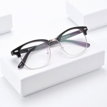 UOOUOO blue ray okulary okulary rowerowe kobiety okulary ramki mężczyźni okulary krótkowzroczność okulary do gier okulary ochronne AT6319 tanie i dobre opinie CN (pochodzenie) Cr-39 Unisex 6319AT 50mm 40mm Plastikowe tytanu