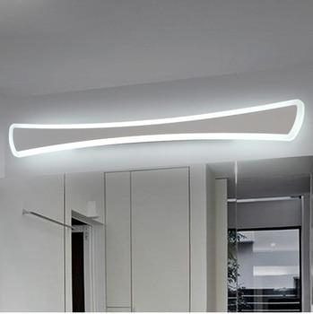 Современные светодиодные зеркальные светильники 40 см ~ 120 см настенный светильник ванная комната спальня изголовье бра lampe deco противотуманн...