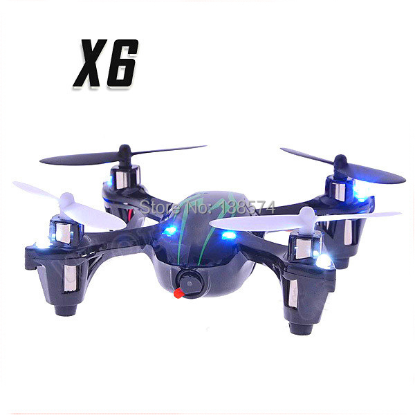 X6 2.4G 4CH RC Quadcopter wtih Camera and Light VS Hubsan X4 H107C UFO RTF