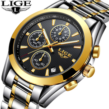Steel Business Gold Masculino LIGE9826