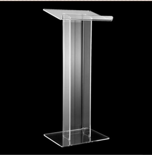 Floor Standing Acrylic Church Lectern Clear Acrylic Church Pulpit Church Acrylic Podium reception desk church pastor the church podium lectern podium desk lectern podium christian acrylic welcome desk front desk