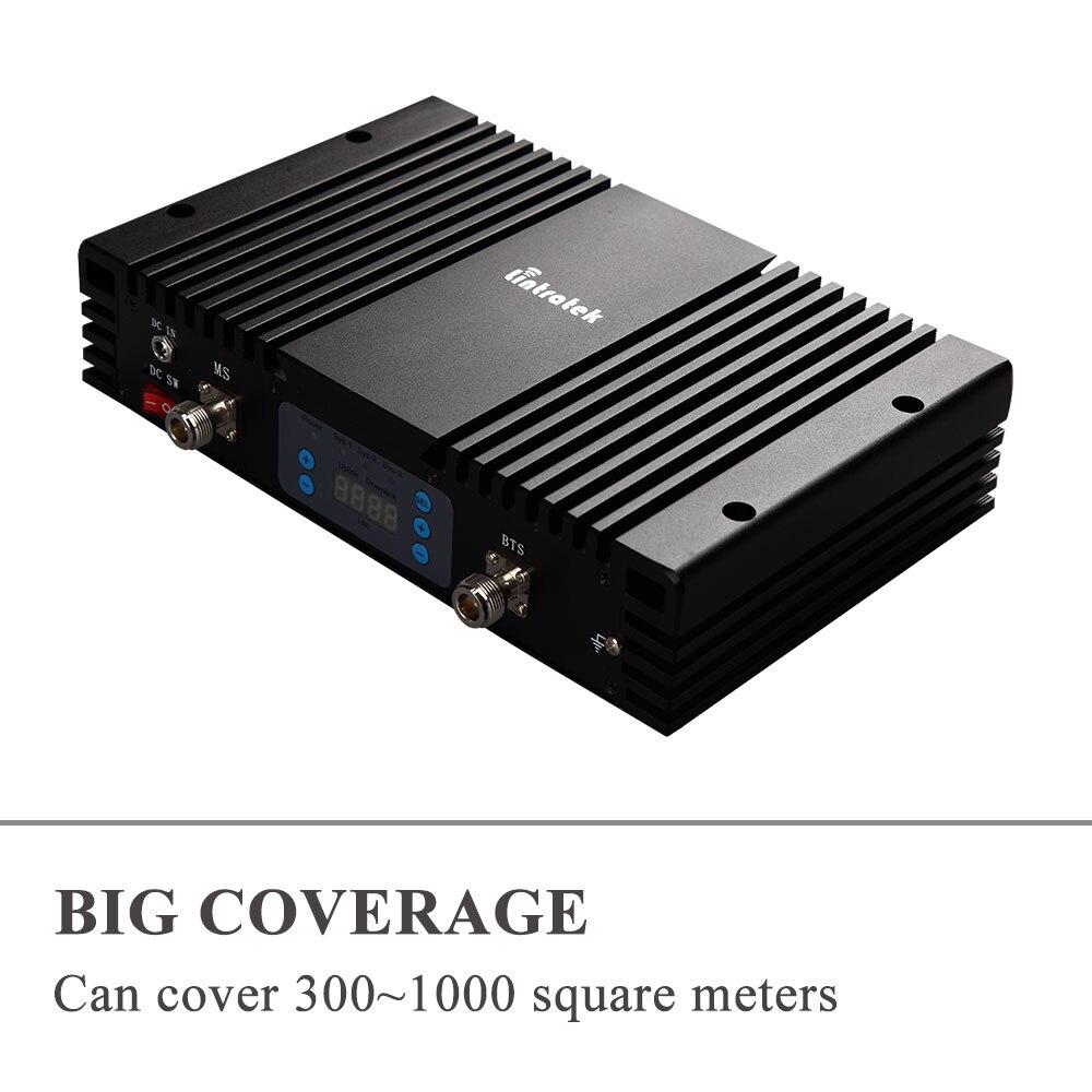 70db Gain 3G amplificateur de Signal de téléphone portable W-CDMA 2100 MHz répéteur de Signal UMTS 2100 répéteur amplificateur de téléphone portable 3G avec AGC MGC * - 4