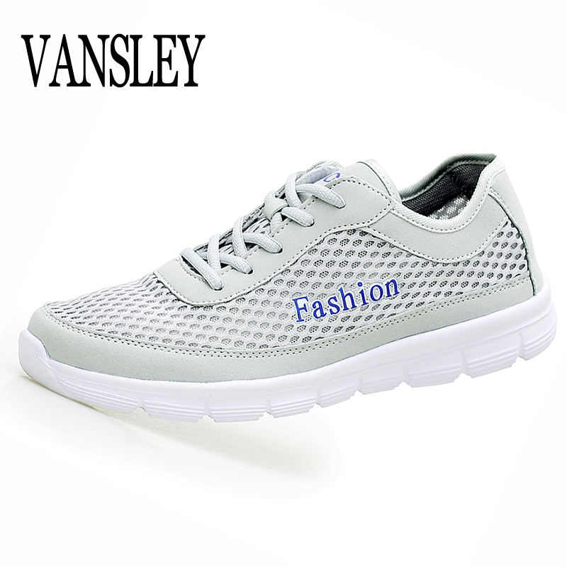 2017 Fashion Men Shoes Summer Breathable Lace Up Casual Shoes Big Size 35-48 Light Comfort Light Weight Air Mesh Men Flats men s casual shoes new summer mesh breathable comfortable men shoes lace up footwears plus size 35 48 1607m