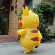 Inflatable Pikachu Costume