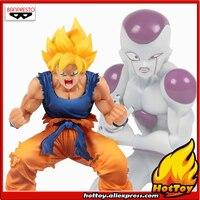 100% Original Banpresto DRAMATIC SHOWCASE 3rd season Collection Figure Super Saiyan Son Goku & Freeza from Dragon Ball Z