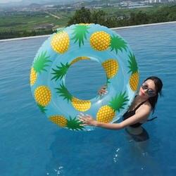 Ананас печати трубки см 105 см гигантский для женщин одежда заплыва кольцо надувной бассейн поплавок открытый Лето вечерние игрушечные