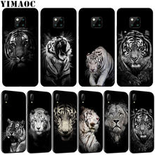 YIMAOC tiger lion leopard Black Soft Silicone Phone Case for Huawei Nova 4 3 3i 2i Black Cover for Huawei Mate 20 10 Pro Lite(China)