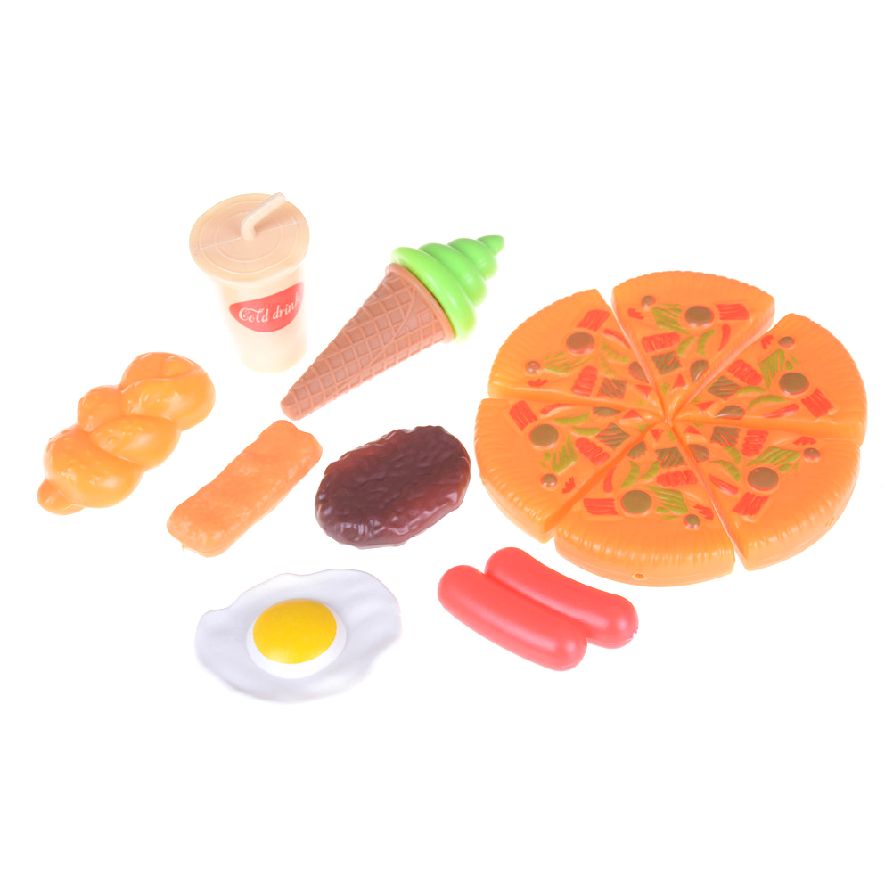 Toys & Hobbies New Fashion Lovely Funny Plastic Kid Children Pizza Cola Ice Cream Food Kitchen Pretend Role Play Toy Birthday Gift For Child