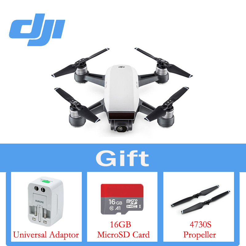 In Stock DJI Spark the Drone (Excluded Remote Controller) 1080P HD Camera Drones Quadrotor RC FPV Quadcopter Original Sparks original yuneec typhoon h 480 pro drone with camera hd 4k rc quadcopter rtf 3 axis 360 gimbal vs dji inspire 2 mavicpro in stock
