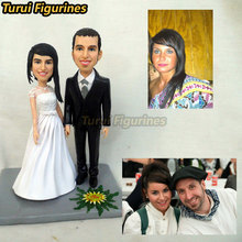 Turui Figurines custom wedding gifts for guests Party DIY Decorations Direction Signs candy box souvenirs