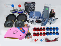 Arcade parts Bundles kit With Pandora Box 6 upgrade version VGA & HDMI output Joystick LED Buttons for Arcade Cabinet Machine