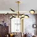 Скандинавские лампы для гостиной  простые и современные подвесные светильники  атмосферная домашняя лампа для спальни  индивидуальная лам...