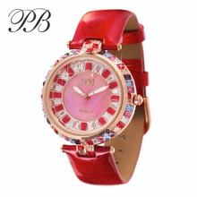 Designer Watch UK Girls Diamond Watches Famous Crystal Swarovski Ladies Brand Wristwatch Bling Dress  HL538