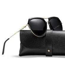 Fashion HD Polarized Sunglasses Women Brand Designer UV400 Shield Sunglasses Female High Quality lady's shades with box Z0833