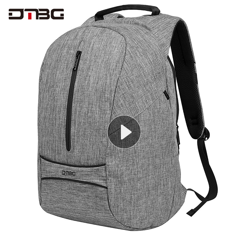 "Dtbg Canvas Backpack 15"" 17 Laptop Bagpack Anti-theft Rugzak Waterproof Plecak Men Women Rucksack Rugtas School Bag Boy Girl Sac"