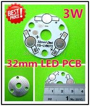 433ce74ccab 32mm 3W LED PCB, 3W Aluminum Base Plate, 3W High Power LED Heat Sink Lamp  Plate LV8072 For DIY A LED Lamp.