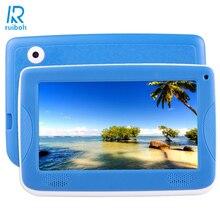 7.0 дюймов ПК Android 4.4 Астар Дети Образование Tablet PC, 512 МБ di Ram; 8 ГБ Rom Allwinner A33 Quad Core, с Силиконовый Чехол (Синий
