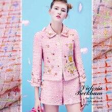 Polka dot print point pas de deux price bursting double Joe silk satin fabric  Fashion property