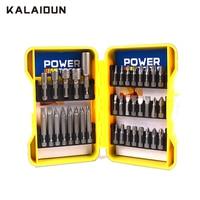 KALAIDUN 37PCS Magnetic Hexagon Socket Nut Driver Set Sleeve Nozzles Multifunction Screwdriver Drill Bit Adapter Hex Power Tools