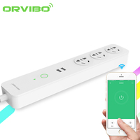 New Orvibo Coco Smart WiFi Sockets Switches 2 USB Extension Remote Control Timing Plug Socket Power