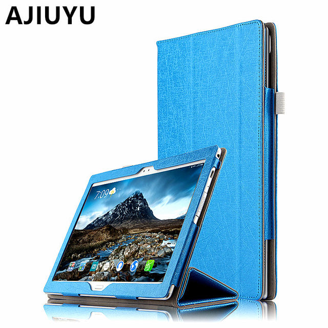 size 40 aafd5 db420 US $12.3 5% OFF|Case For Lenovo Tab 4 10 Plus Covers Tab410plus Protective  Protector Smart Cover Leather PU TB X704F X704N F Tablet Cases 10.1