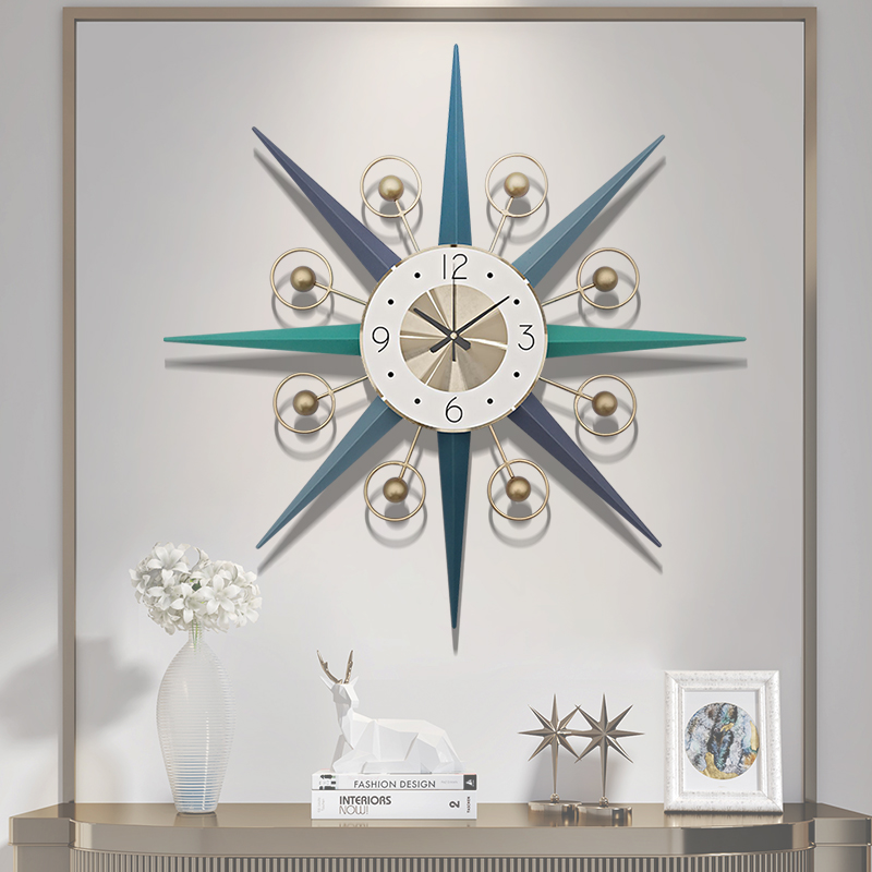 71cm Nordic Creative Wall Clock Modern Design, Silent Clock, Living Room Home Decoration Quartz Clock, Big Clock On The Wall