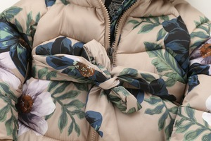 Image 4 - Chaquetas de invierno para niños con capucha y cremallera, abrigo de algodón con estampado con relleno, 2 a 9 años