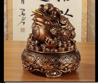Spittor furnishing articles fortune three pure gold cicada Cash register horse Smooth sailing fortune Dragon boat crafts statue