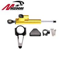 Mzoom Hyperpro Steering Damper with bracket Support For Honda CBR 600 F4I 2001 2007