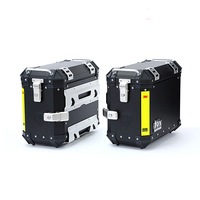 35L Motorcycle Universal Pair Side Box Side Case Saddle Bag Pannier Cargo for yamaha honda suzuki BMW Kawasaki Motorbike