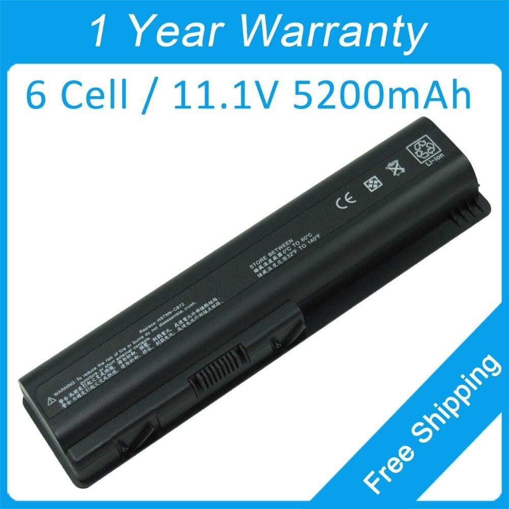Аккумулятор для ноутбука hp Pavilion dv4 dv5 <font><b>dv6</b></font> dv4-1000 dv4-2000 dv4-1200 dv4-1500 dv4-2100 484170 &#8211; 002 516915 &#8211; 001 HSTNN-C52C