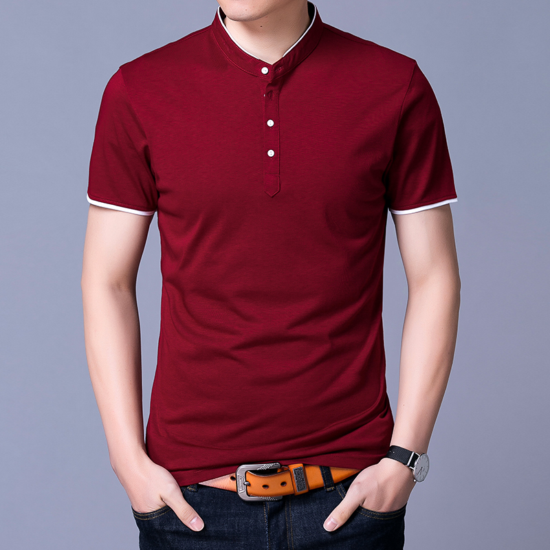Cotton Shirt No Collar Promotion-Shop for Promotional Cotton Shirt ...