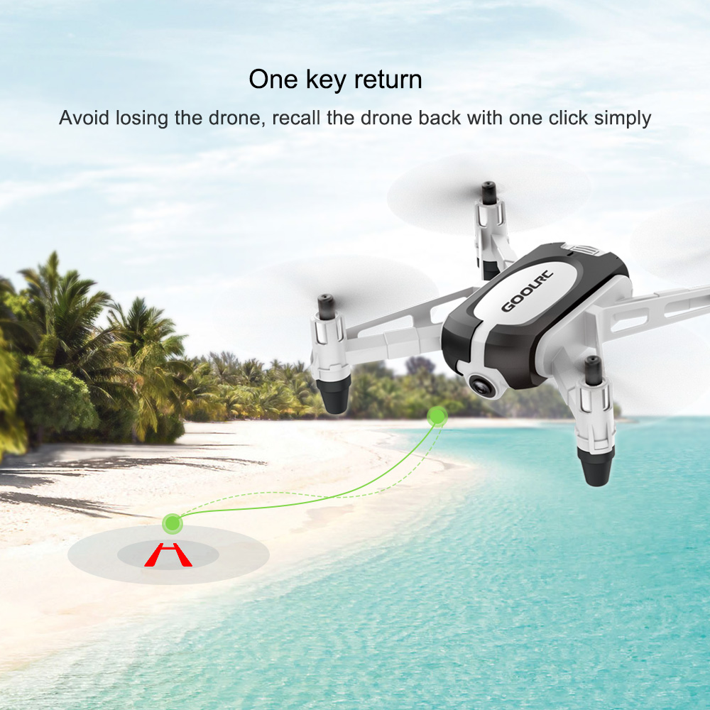 SELFIE DRONE 720P CAMERA G-SENSOR, ALTITUDE HOLD, FOR KIDS | GoolRC T700 4
